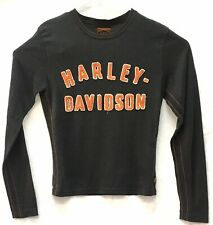 Harley Davidson Mens Sweater Dark Gray Crew Neck Size Large issued by TRUNK LTD