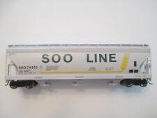 InterMountain HO 47056 SOO Line ACF 4650 Cu. Ft. 3-Bay Hopper