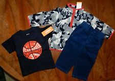 Pant Jacket 3pc Outfit Gymboree Fleece Boy size 12-18 month New