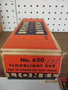 Lionel Prewar 620 Searchlight Empty Box