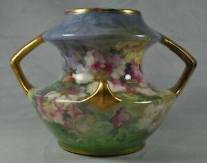 Antique ROYAL BONN Germany Vase Incised Mark Signed