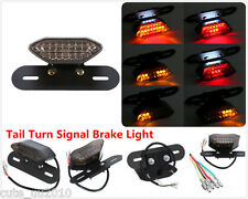 1PC 20LED Brake Tail Turn Signal Light With License Plate Bracket For Motorcycle