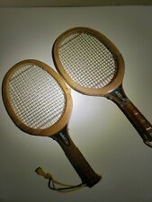 Vintage Antique Wood Racquetball Racquet T-1205