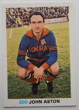 FKS Soccer Stars 1977-1978 NUMBER 200 JOHN ASTON