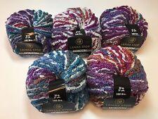 5 Stk. Lanas Stop HORIZON Farbe; 775 Luxuswolle 5x100 Gra Garn Wolle Effekt