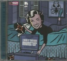 OST I WAS A TEENAGE MUNSTER CD ALBUM 2003 (AMERICAN FOUR + REAL KIDS + GUN CLUB