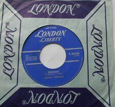 JOHNNY BURNETTE Dreamin' / Cincinnati CANADA 1960 1st Press LONDON 45 ROCK