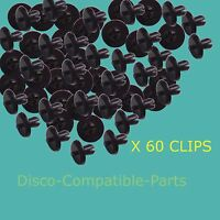 60 x Land Rover Defender Plastic Wheel Arch Rivets AFU1075 Bearmach