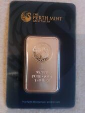 Lingot d'Or Pur  1 Oz Certifié The Perth Mint Sous Scellé