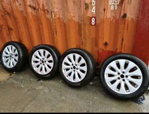 Jaguar XE Wheels With Tyres