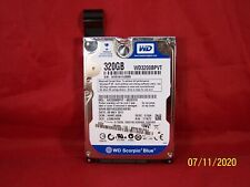 WD Scorpio Blue 320GB  Laptop Hard Disk Drive WD320BPVT WIPED & TESTED