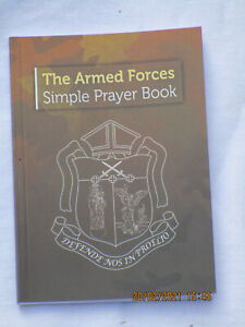 British Army ,The Armed Forces ,Simple Prayer Book,Gebetbuch,112 Seiten