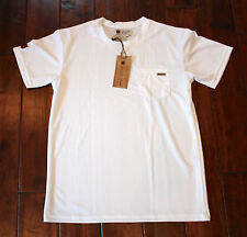 NEW Men's ILIAC SURFER T-Shirt Anti-Microbial - White - USA MADE - Medium