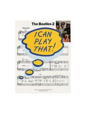 I Can Play That The Beatles 2 Learn to Play MUSIC BOOK Piano Lyrics & Chords