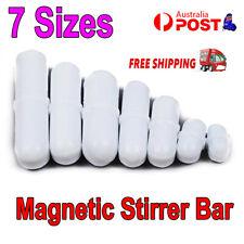 7PCS Magnetic Stirrer Bar Mixer TYPE PTFE Cover Stir Bar Stirred Solution Use