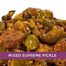 Mixed Supreme Pickle Homemade Taste Mix Rajasthani Pickles Achar 500 gm