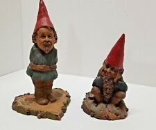 Lot of 2 Tom Clark Gnomes Job 1987 #40 Item #5023 & Val 1984 #40 Artist signed