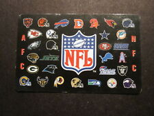 NATIONAL FOOTBALL LEAGUE rare PHONE CARD nfl