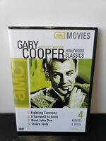 Gary Cooper Classics ~ 4 Movies on 2-Disc DVD Set ~ FREE Shipping USA