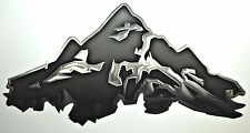 1 RV TRAILER MOTORCOACH MOUNTAIN SCENE GRAPHIC DECAL -1882