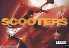 Scooter Brochure - Suzuki - Product Line Overview - 1999 (Dc414)