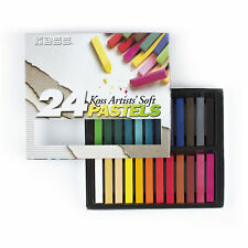 Koss International - 24 Most Popular Colors - Soft Pastel Chalks