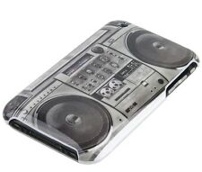 Hülle f iPhone 3GS 3G Schutzhülle Case Hard Cover Ghettoblaster Kassette Radio