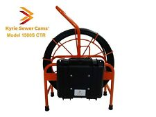 Kyrie Cam 1500S CTR, 150 ft sewer camera with on screen counter & 512 hz sonde