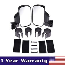 """UTV Off-road Side View Mirror Set For High Impact Break Away 1.5"""" - 2"""" Roll Cage"""