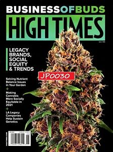 High Times Magazine June 2021, Business Of Buds, Bella Thorne, Brand New/Sealed