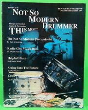 Not So Modern Drummer Magazine Nov/Dec 1994