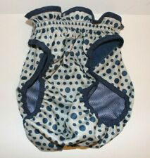 Top Paw Washable Diaper Cover Ups - Blue Dots - XX-Large