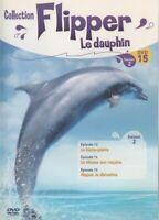 FLIPPER LE DAUPHIN .... SAISON 2 .... DVD N°15 ( épisodes n°13 à 15 )