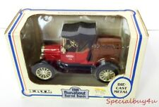 "Ab1 Ertl 1918 Ford Model ""T"" Runabout True Value Hardware Die Cast Metal Bank"