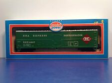 "HO Scale ""REA Express Refrigerator"" REX 6597 50 Foot Freight Train / Model Power"