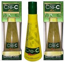 2 Cre-C Max Shampoo & 1 Conditioner / Contra La Caida Del Cabello 8.46 Oz /250ml