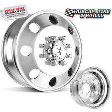 "AMERICAN FORCE CLASSIC DUALLY 19.5""x6.75 WHEELS - 8 LUGS - 4 FORGED + 2 STEEL"