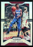 JIMMY BUTLER Panini Prizm 2019-20 SILVER REFRACTOR SSP #246 76ers Miami Heat