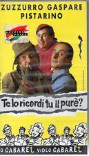 ZUZZURRO GASPARE PISTARINO - TE LO RICORDI TU IL PURE' - VHS (NUOVO SIGILLATA)
