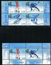 TADSCHIKISTAN TAJIKISTAN 2014 Olympiade Olympics Sotschi Eishockey  ** MNH
