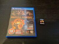 Mortal Kombat Vita (Playstation Vita) Boxed. GC. Free P+P.
