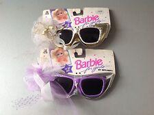 1991# Barbie 2 X Combo  Sunglass Sunglasses Opti Ray#Noc Occhiali Da Sole