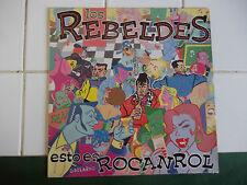 ROCKABILLY LOS REBELDES  ESTOS ES ROCANROL SPANNISH ROCKABILLY 80'S