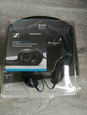 Sennheiser PC 5 Chat Over the Ear Headband Headphone - Black