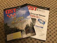 QST MAGAZINES - 2 issues  Nov & Dec 2018 -AMATEUR HAM RADIO ARRL--NEW/UNREAD