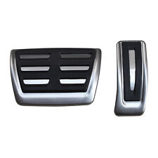 For Audi A4 B8 A5 A6 A7 A8 Q5 Macan Steel Gas Brake Pedal Cover Cap Accessories