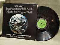 Univ of Michigan Symphony Band LP Apotheosis of This Earth Golden Crest CRS-4134