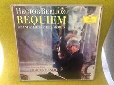 Box 2 LP - BERLIOZ - REQUIEM - CHARLES MUNCH -DEUTSCH GRAMMOPHON 104969/70