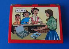 Blechspielzeug alte Kasse Kinderkasse + Kindergeld Kaufmannsladen 50er Jahre