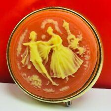 womens pill box case victorian dancing cape travel makeup